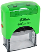 EcoLine Self Inking Stamps are an environmentally friendly and made with recycled water bottles.