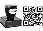 Connect, Network and Engage with consumers and contacts with QR Code Stamps from Schwaab! Free Shipping!